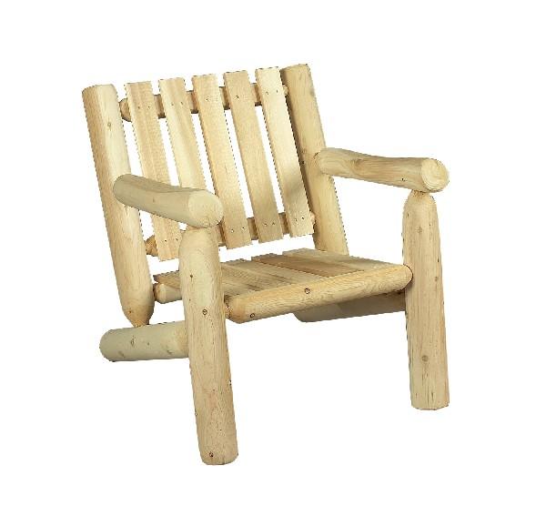 Ce fauteuil en bois de c&egrave;dre de la gamme RONDINS est l'&eacute;l&eacute;ment indispensable pour am&eacute;nager votre salon d'&eacute;t&eacute; et votre salon d'hiver.<br /> <br /> Associ&eacute; &agrave; son repose-pieds RONDINS (r&eacute;f B11), il apporte une touche &laquo; campagne cocooning &raquo; &agrave; votre univers !<br /> <br /> Ce fauteuil en bois existe &eacute;galement en version dossier haut (r&eacute;f B 4A KD).<br /> <br />  <br /> <br /> Mat&eacute;riau : bois naturel massif – 100% c&egrave;dre blanc – bois non trait&eacute; et imputrescible<br /> <br /> Norme NF P99-610 Robustesse et Stabilit&eacute;<br /> <br /> Norme EN350 Bois Tr&egrave;s Durable<br /> <br /> Usages : si&egrave;ge d'int&eacute;rieur et si&egrave;ge de jardin – tout temps<br /> <br /> En ext&eacute;rieur, &eacute;volution de la teinte en gris clair argent&eacute;<br /> <br /> Possibilit&eacute; d'&ecirc;tre verni, lasur&eacute; ou peint, selon vos go&ucirc;ts<br /> <br /> Dimensions (cm) largeur 64 – profondeur 71 – hauteur 71<br /> <br /> Assise (cm) : Hauteur au sol 36 – Profondeur assise 41.5 cm – Largeur 43<br /> <br /> Hauteur dossier 48 cm<br /> <br /> Poids 12 kg<br /> <br /> Meuble en kit livr&eacute; pr&eacute;-mont&eacute; avec notice d'assemblage pour un montage simple et rapide<br /> <br /> Certification FSC et certification Rainforest Alliance <br /> <br /> Garantie fabricant 2 ans<br /> <br /> Fabriqu&eacute; au Qu&eacute;bec (Canada)<br /> <br /> Stock en France